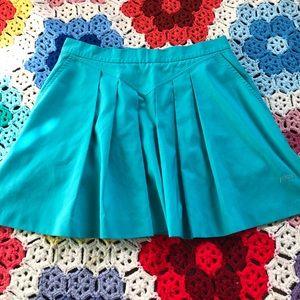 VTG 90s Blue Prince Pleated Mini Skirt